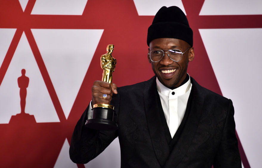 Mahershala Ali, winner of the Best Actor In A Supporting Role Award for Green Book.