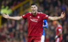 Scott McKenna was sent off against Rangers last night.
