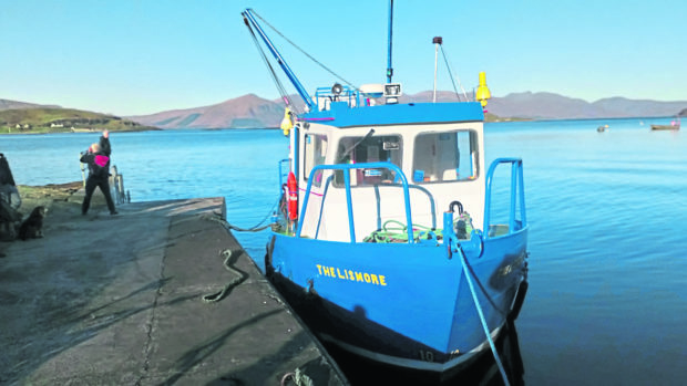 The Lismore Ferry will be the first to be replaced in Argyll and Bute.