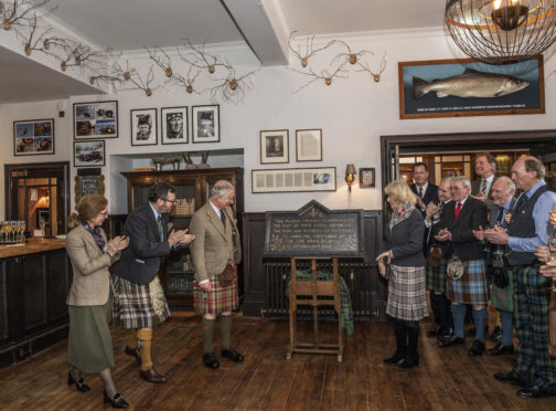 Many of the staff in the Fife Arms Hotel, recently reopened by Prince Charles, rely on the bus service to get to and from work.
