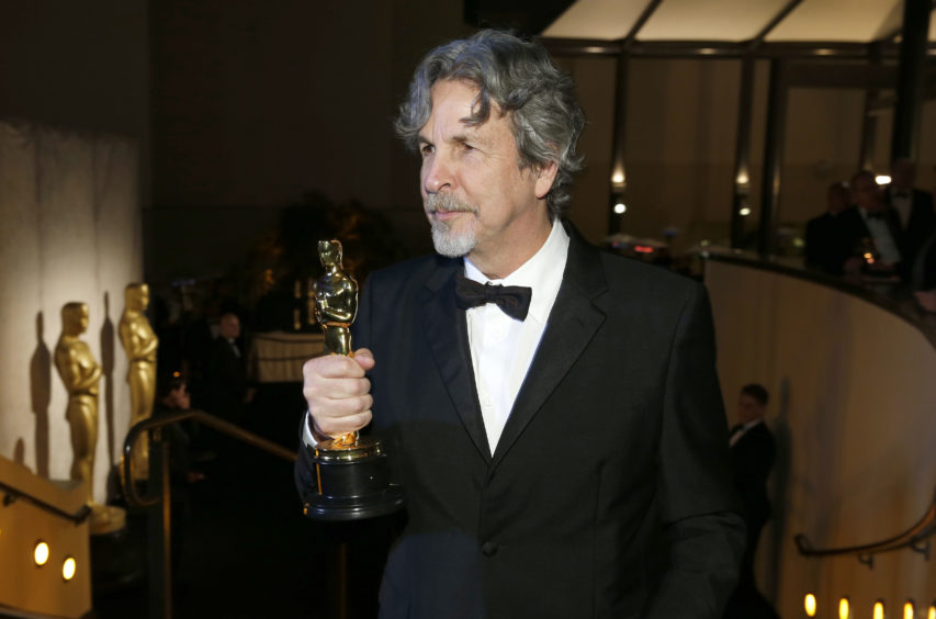 Peter Farrelly, winner of the award for Best Picture for Green Book.