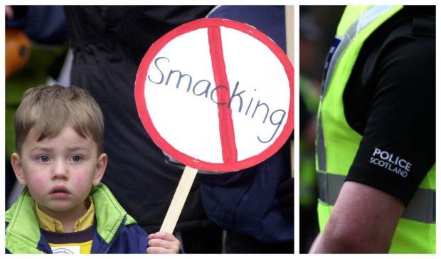 Smacking costing Police Scotland.