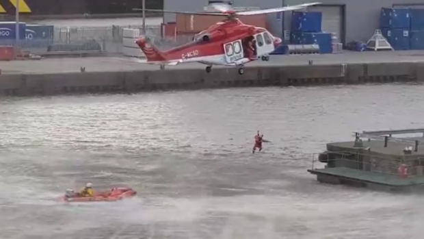 All five of the teens were safely rescued