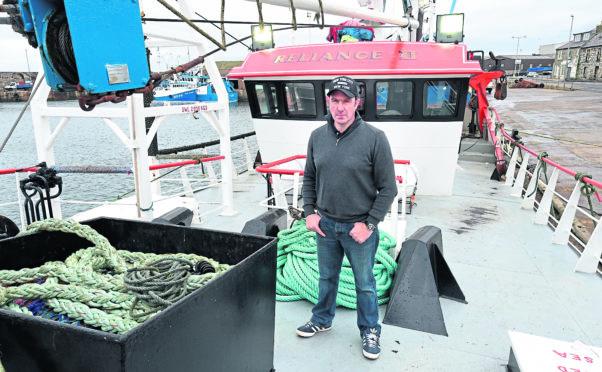 Reliance II skipper John Clark has welcomed the revised landing regulations at Macduff