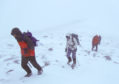Winter conditions will return to Scotland's mountains this weekend.