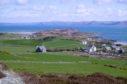 Spring sunshine on the island of Gigha, Argyll.