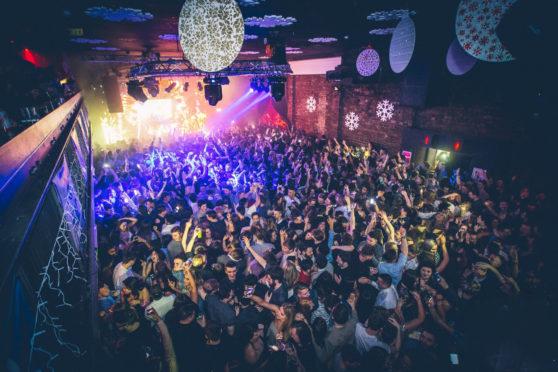 Stock image from Garage nightclub