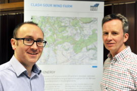 L-R: Andrew Smith, head of planning and development, and Nick Mackay, head of legal and commercial, GForce 9 Energy.