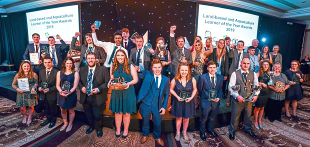 Lantra Learner of the Year awards.