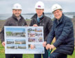 From left, CRPG Architects director McFadzean, CHAP managing director Douglas Thomson and Parklands Group managing director Ron Taylor.