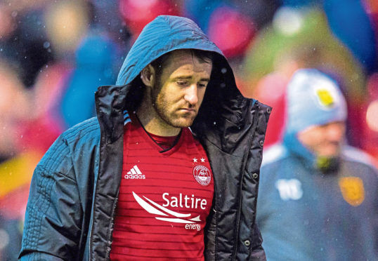 Aberdeen midfielder Niall McGinn faces ankle ligament surgery.