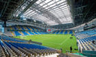 A general view of the Astana Stadium