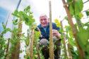 Richard Jones who runs The Farmer Jones Academy at Cawdor.     Pictures Jason Hedges