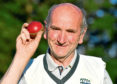 Inverurie Don Valley Cricket Club bowler John Jessiman. Picture by Kami Thomson