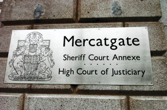 The jury were sent home because of a leak in the Mercatgate annexe