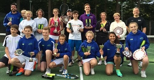 Aboyne Tennis Club is in the running for national recognition.