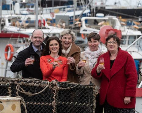 From left: Michael Murray, Jo Robinson, Karen Patersonm Carole Short and Lynda McGuigan.