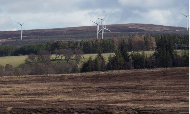 Clash Gour windfarm