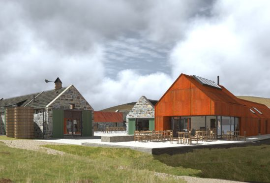 Architect's impression of the Heritage Centre