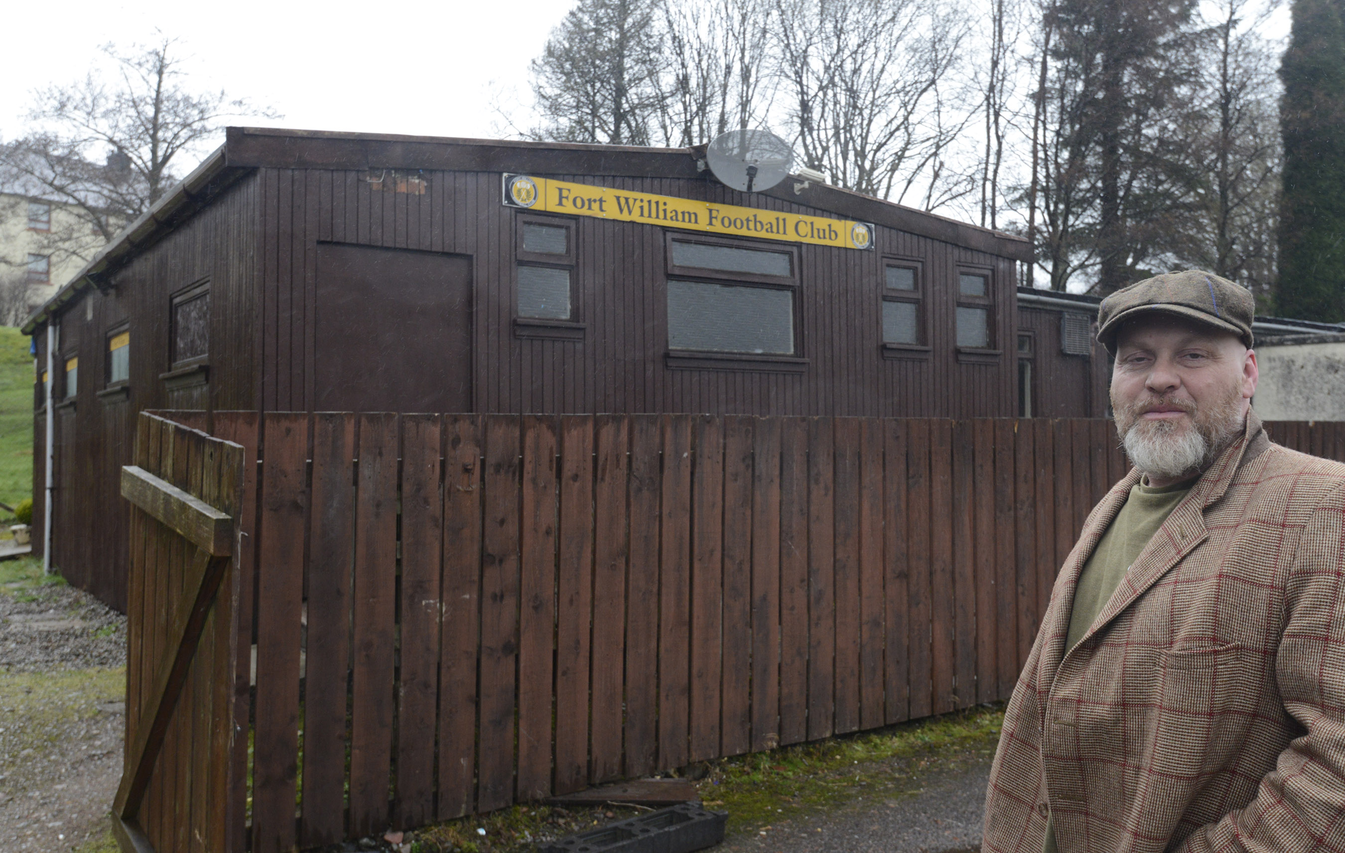 9bc232cb0cb Financial setback for Fort William FC after  scumbags  damage club house in  overnight break-in