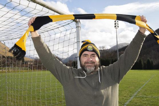 Jon Cox, also known as Loki Doki, visited Claggan Park last weekend.