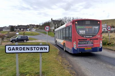 The 273 Saturday service to Gardenstown is one of 29 being axed by the council next month.