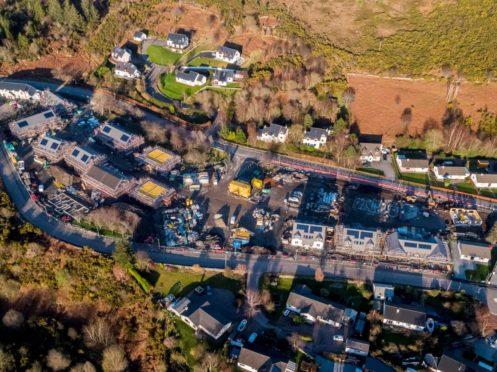 Housing plans got underway in Ullapool.