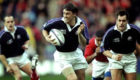 Scotland's John Leslie scored a try after just 10 seconds against Wales in 1999.