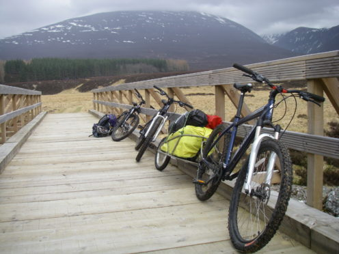 Charity Outfit Moray is going to boost its commercial operations by offering mountain bike adventures to increase its survival chances.