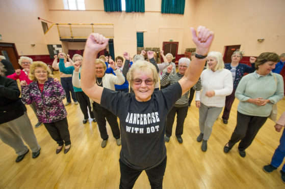 Dot Bremner runs dancing classes across Moray to raise money for charities.