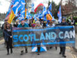 Scotland Standing up for our Citizens March in Inverness.