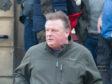 Shaun Worrall leaving Elgin Sheriff Court, Moray.