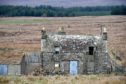 An abandoned house in Caithness.