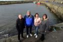 Rosehearty Harbour and Inshore Fishermen's Association officer bearers (L to R) David Whyte, chairman, Ross Downie, vice chairman, Dawn-Marie Duncan, treasurer and Shirley Whyte, secretary.