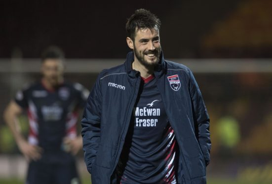 Ross County striker Brian Graham.