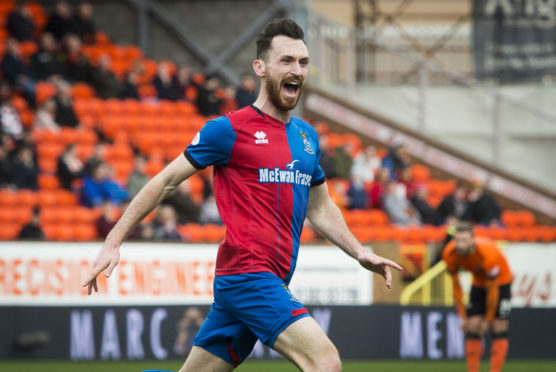 Caley Thistle midfielder Joe Chalmers