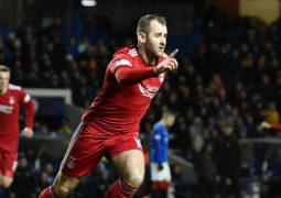 Niall McGinn rubbishes talk of Glasgow fear factor after Aberdeen see off Rangers for third time