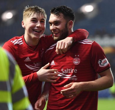 Teenagers Dean Campbell and Connor McLennan starred for Aberdeen.