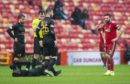 Aberdeen were held 1-1 by Livingston.