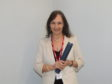 Sandra MacLean with her award