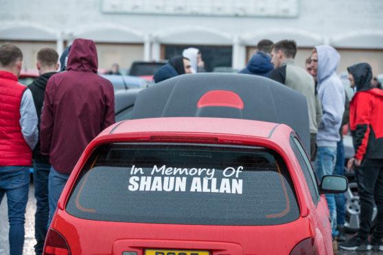 Mr Allan was a well-loved man said organiser and friend Darren Cameron