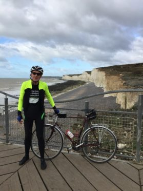Samaritans cyclist Steve Johnson is to pay a visit to Thurso Branch as part of 1600 mile journey.