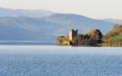 Three people fell into the waters at Loch Ness