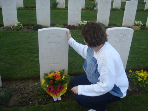 Pauline Gerrard is creating a new database of Aberdeen residents who died in WW2.