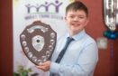 Aidan Henderson from Elgin Academy was crowned Moray Young Citizen 2019.