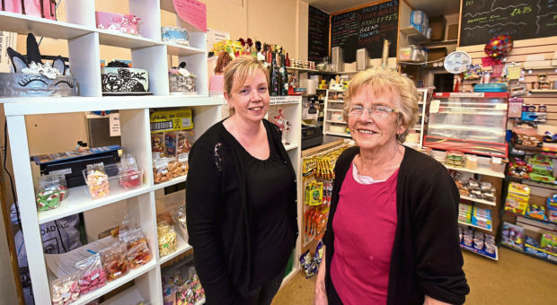 Owners Yvonne Allan and Helen Donald.