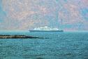 Cruise Ship Astoria in Loch Linnhe.