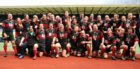 Aberdeenshire's squad from the 2009 National Bowl final at Murrayfield.