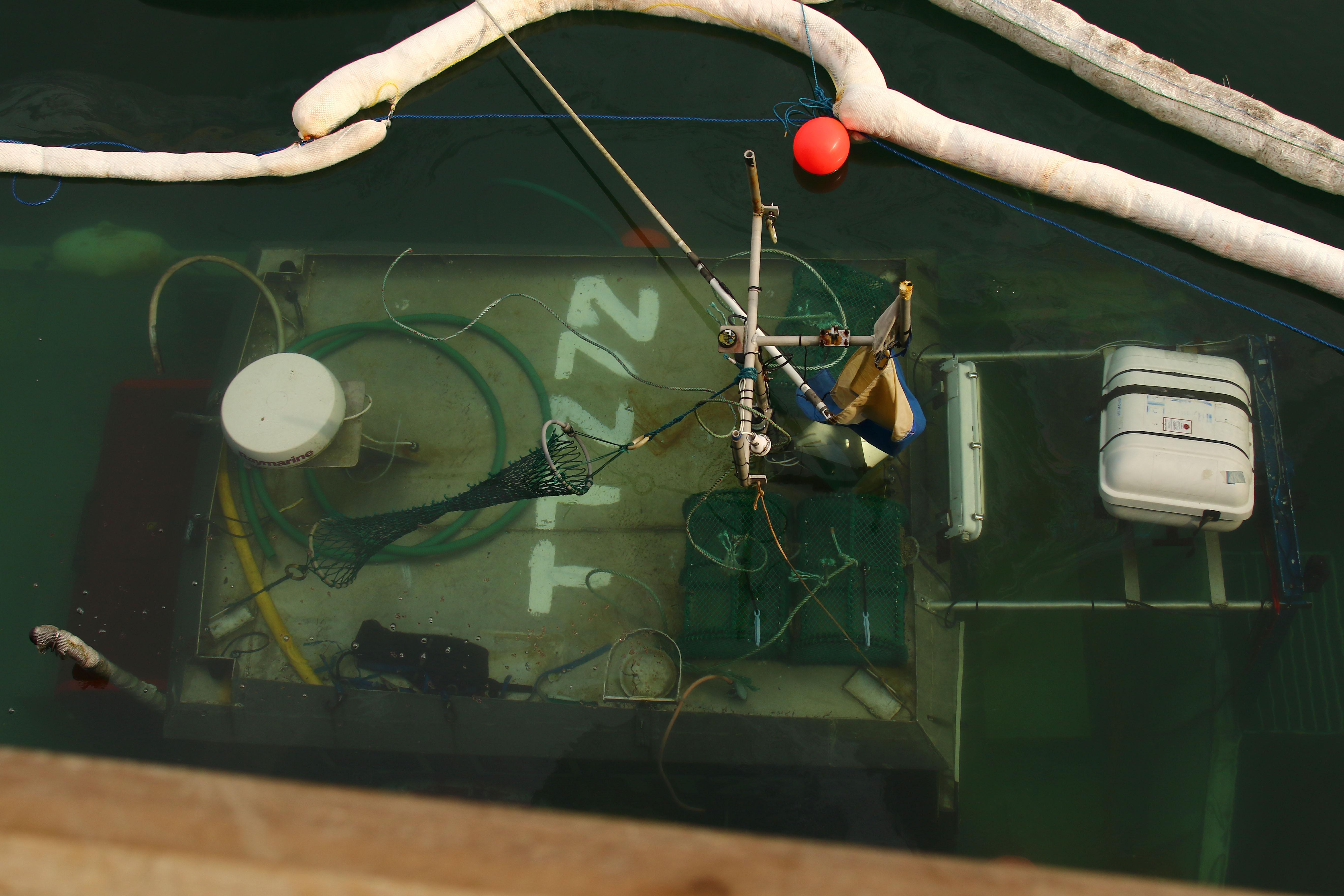 Sunken boat poses 'risk of pollution' to Oban Bay