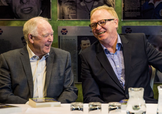 Craig Brown and Alex McLeish.